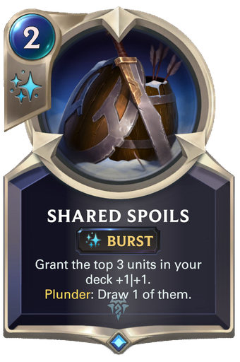 Shared Spoils Card Image