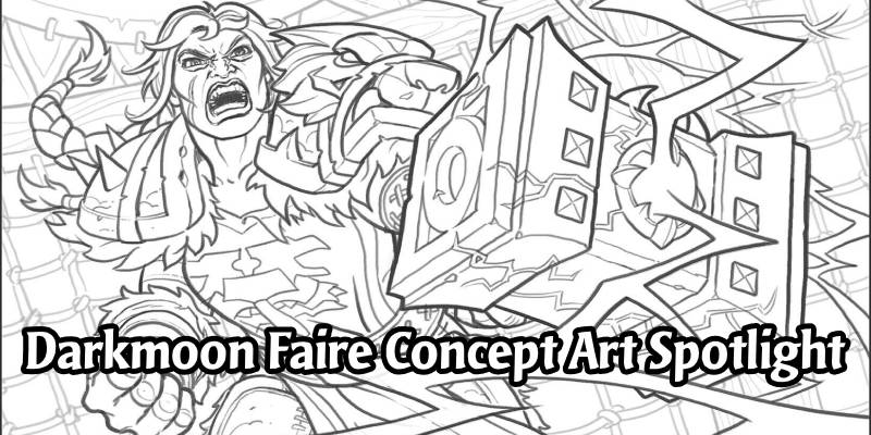 Madness at the Darkmoon Faire - Hearthstone Concept Art Spotlight