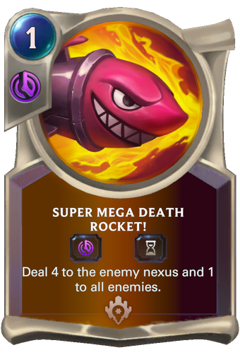 Super Mega Death Rocket! Card Image