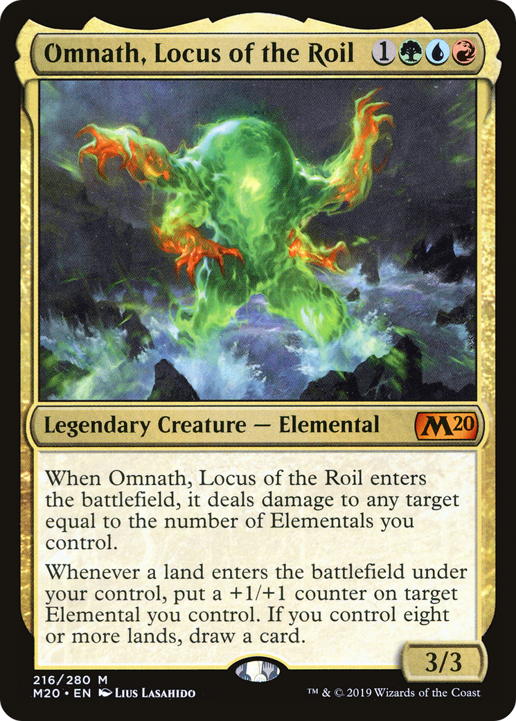 Omnath, Locus of the Roil Card Image
