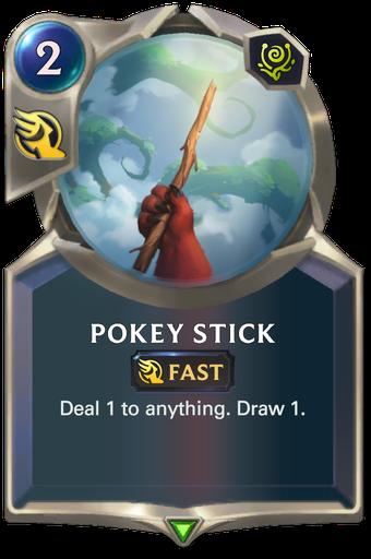 Pokey Stick Card Image
