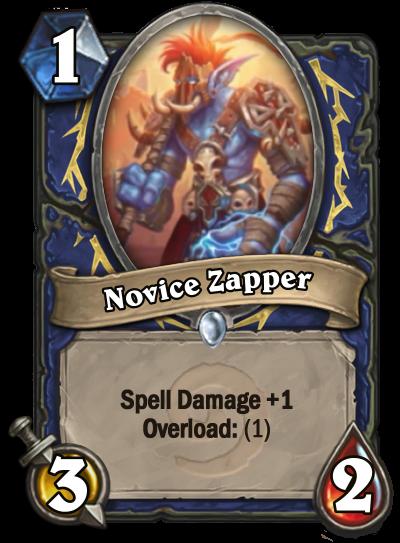 Novice Zapper Card Image