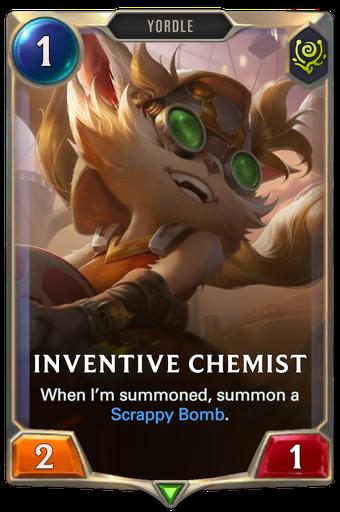 Inventive Chemist Card Image