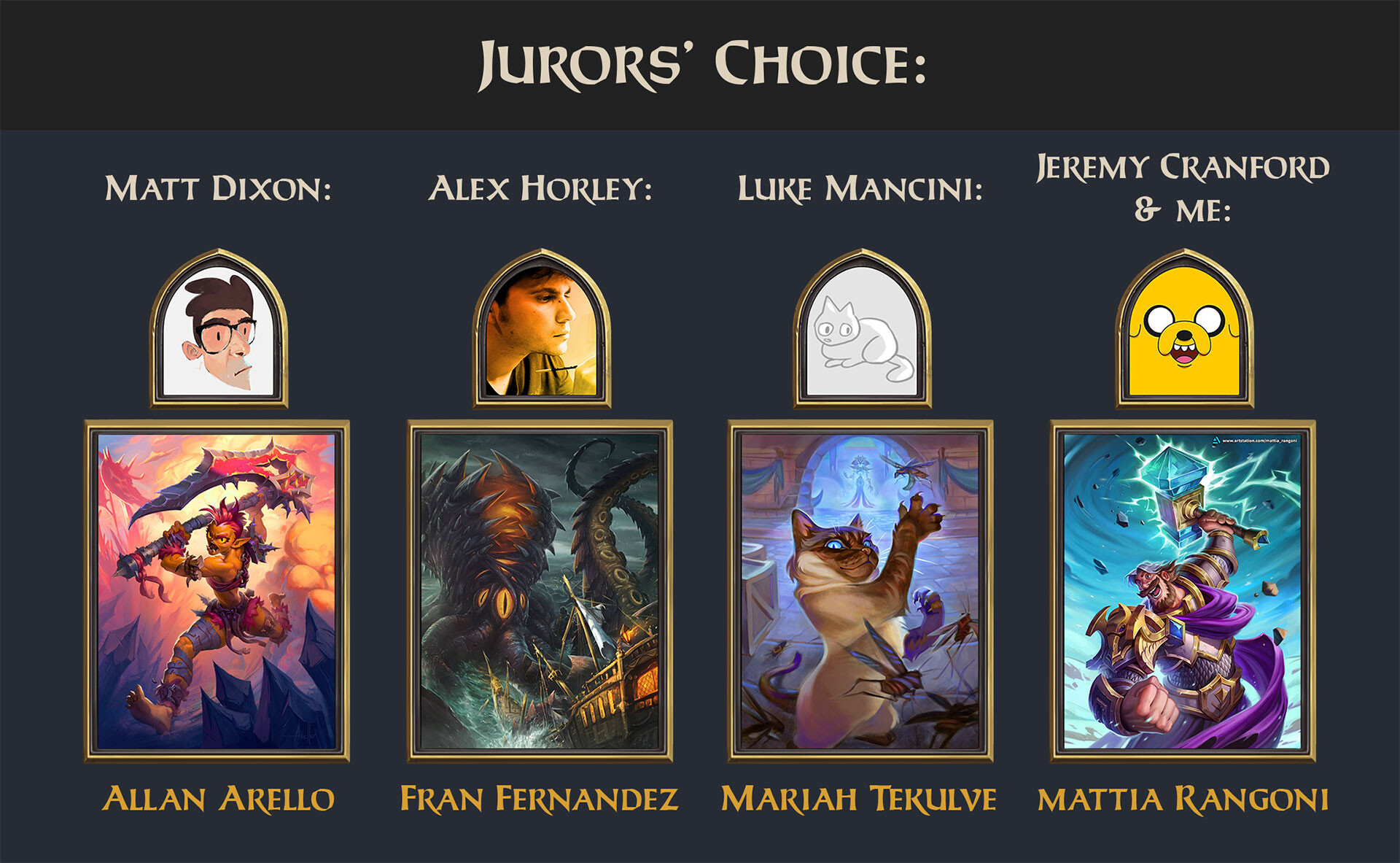 Hearthstone Art Challenge 2020, Jurors' Choice