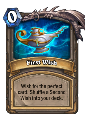 First Wish Card Image