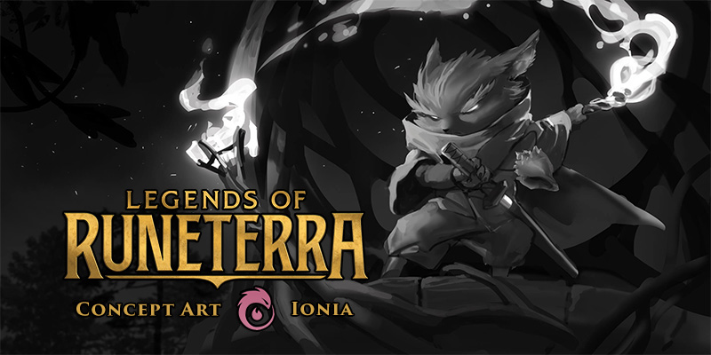 Legends of Runeterra Concept Art Spotlight - Ionia