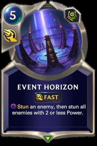 Event Horizon Card Image
