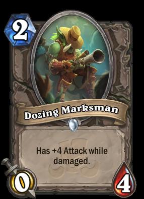 Dozing Marksman Card Image