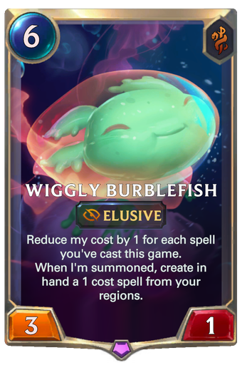 Wiggly Burblefish Card Image