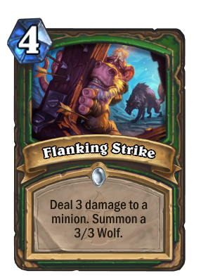 Flanking Strike Card Image