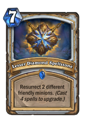 Lesser Diamond Spellstone Card Image
