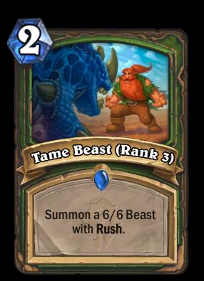 Tame Beast (Rank 3) Card Image