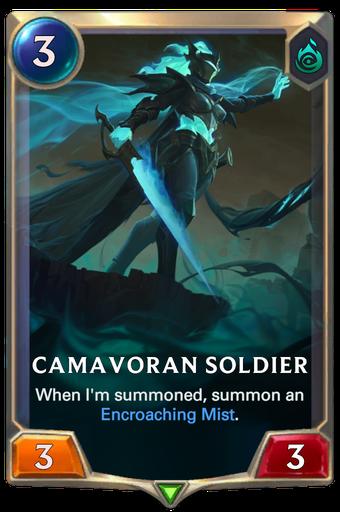 Camavoran Soldier Card Image