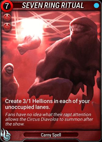 Seven Ring Ritual Card Image