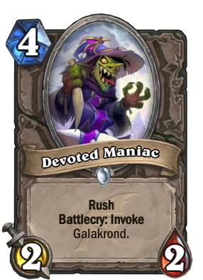 Devoted Maniac Card Image