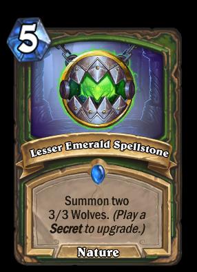 Lesser Emerald Spellstone Card Image