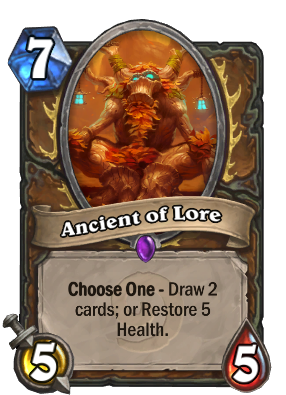 Ancient of Lore Card Image
