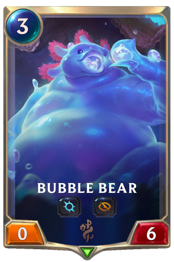 Bubble Bear Card Image