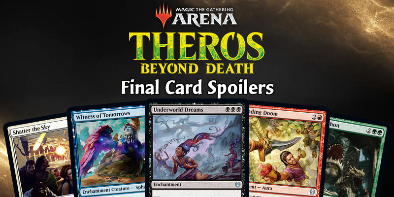 MTG Arena - Theros: Beyond Death Final Card Dump