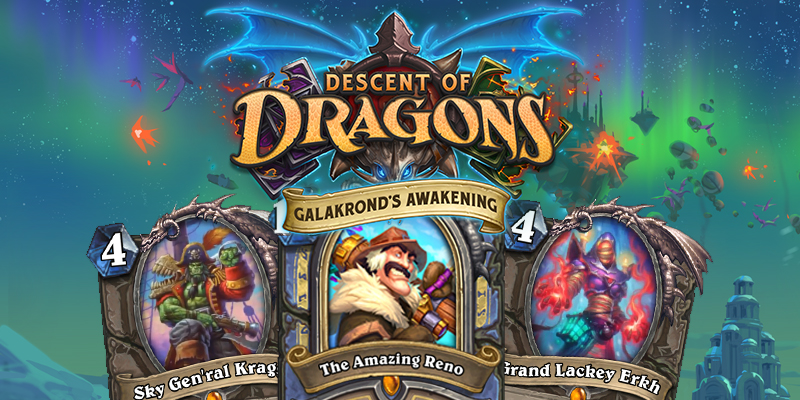 Out of Cards Reviews - Galakrond's Awakening #1