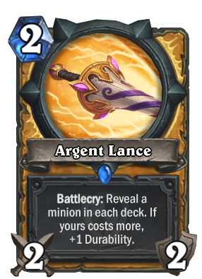 Argent Lance Card Image