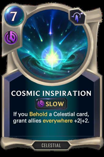 Cosmic Inspiration Card Image