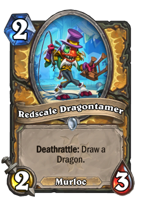 Redscale Dragontamer Card Image