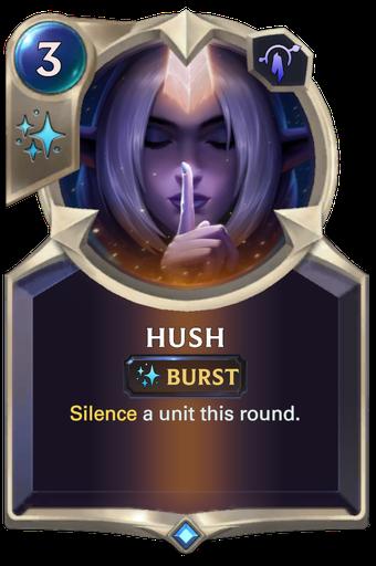 Hush Card Image