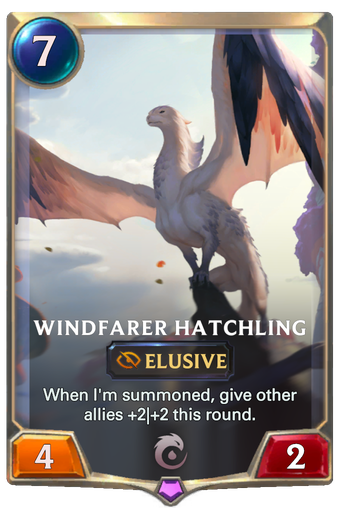 Windfarer Hatchling Card Image