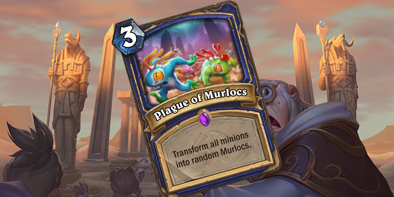New Shaman Card Reveal - Plague of Murlocs