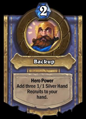 Backup Card Image
