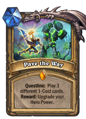 Pave the Way Card Image