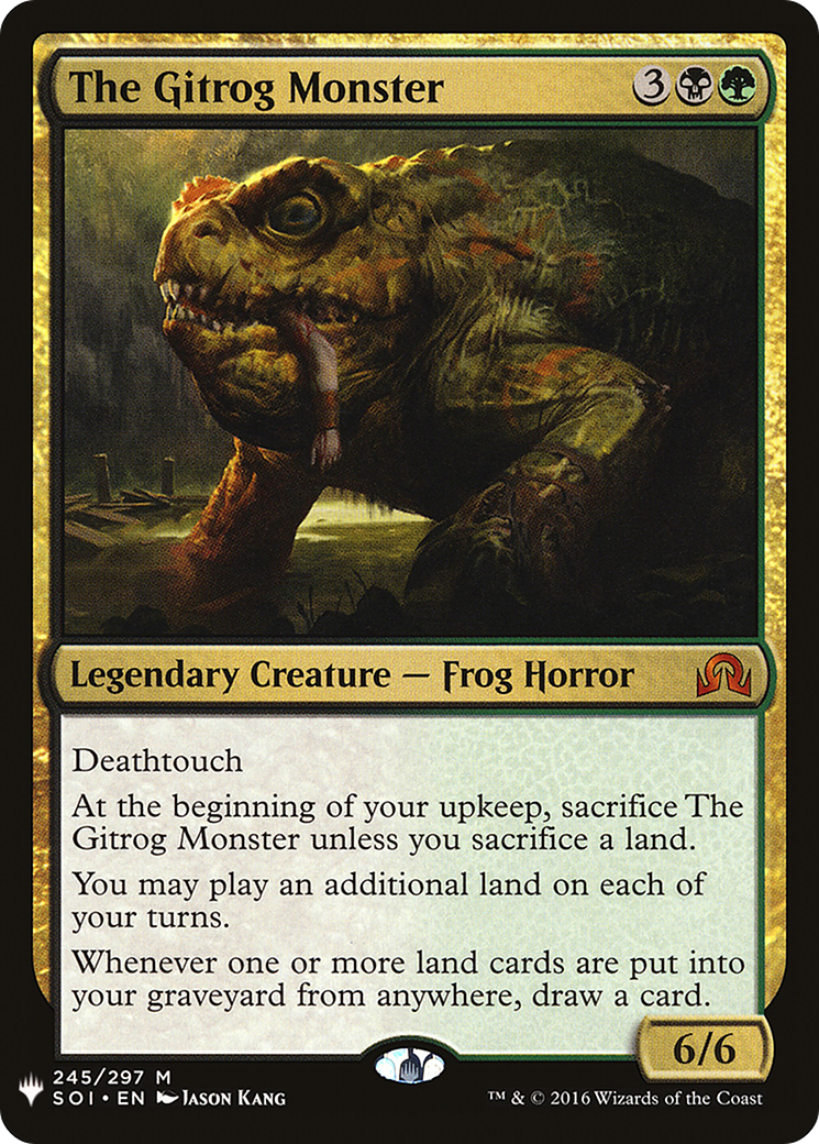 The Gitrog Monster Card Image