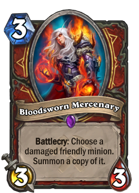 Bloodsworn Mercenary Card Image