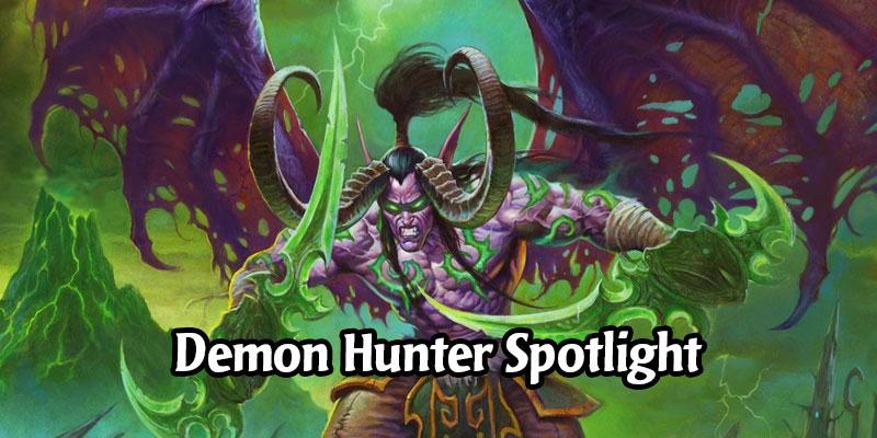 Demon Hunter Scholomance Spotlight - Best Cards to Craft & Awesome Standard Decks