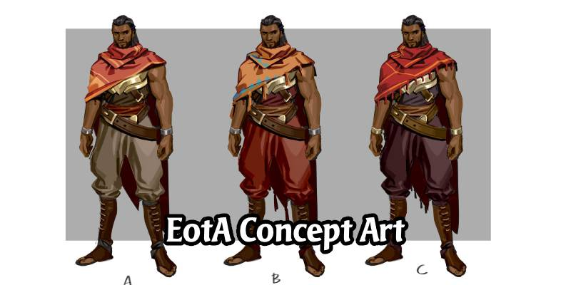In The Frame: Empires of the Ascended Concept Art
