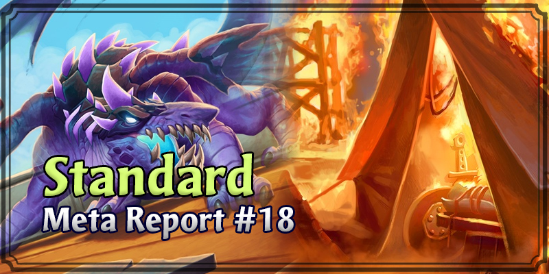 Standard Meta Report #18 - Top Hearthstone Decks January 5, 2020 - January 12, 2020