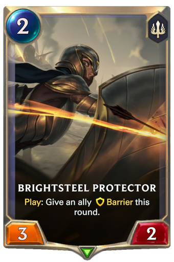 Brightsteel Protector Card Image