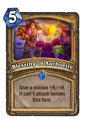 Blessing of Authority Card Image
