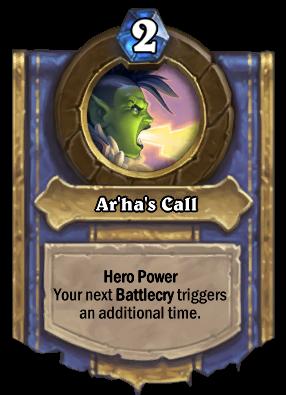 Ar'ha's Call Card Image