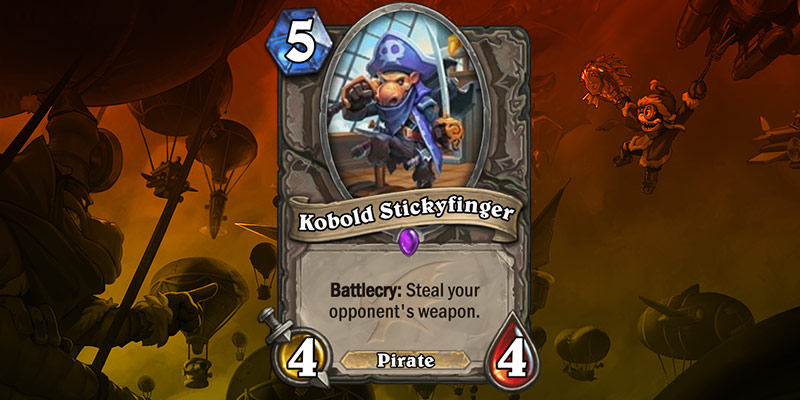Pirate Card Reveal - Kobold Stickyfinger