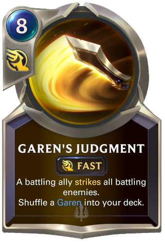 Garen's Judgment Card Image
