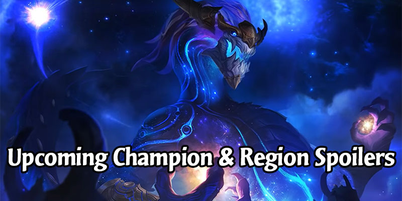 Did Riot Just Leak the Next Legends of Runeterra Region and Two New Champions?