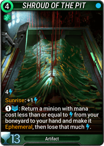 Shroud of the Pit Card Image