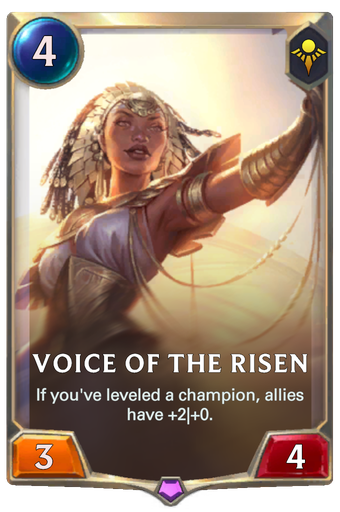 Voice of the Risen Card Image