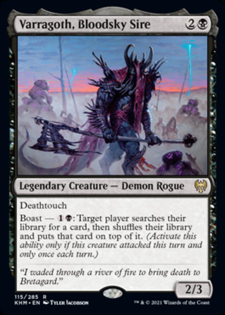 Varragoth, Bloodsky Sire Card Image