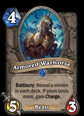 Armored Warhorse Card Image