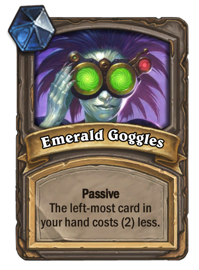 Emerald Goggles Card Image