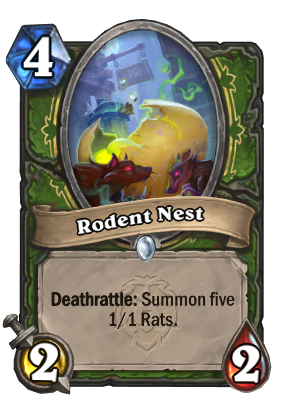 Rodent Nest Card Image