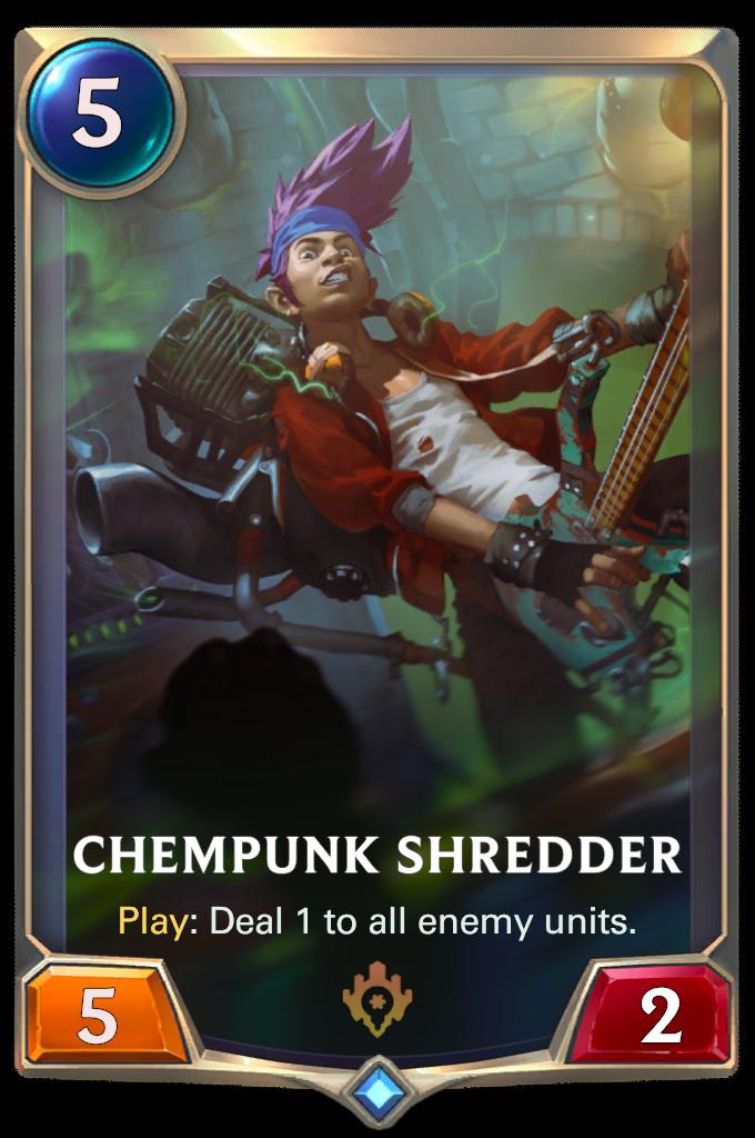 Chempunk Shredder Card Image